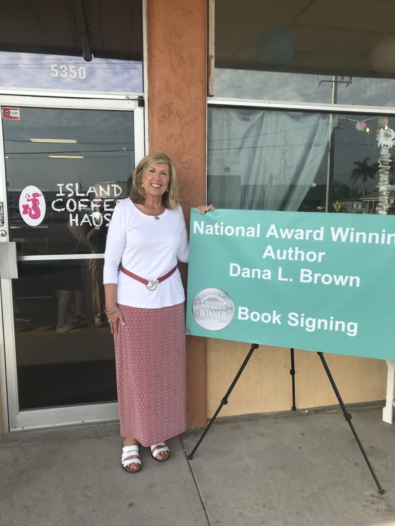 Book Release Party for Call Me Charlotte at Island Coffee Haus on Anna Maria Island!