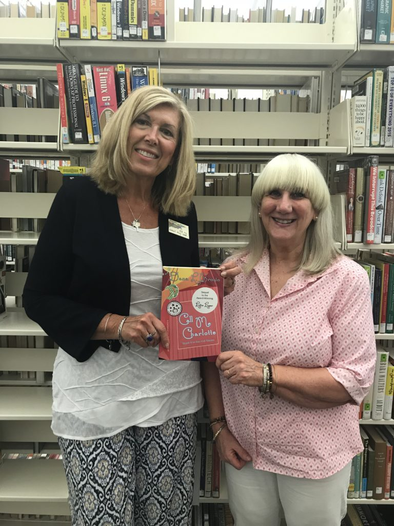 With Susi Halley of the Greenville, Ohio Public Library